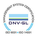 DNV GL ISO 9001 ISO 14001 Management System Ceritification